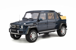 Maybach G650 Landaulet Designo sea blue metallic 1:18 GT Spirit