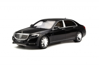 Mercedes Maybach S600 2015 Obsidian black 1:18 GT Spirit