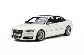 Audi S8 D3 2008 Ibis white 1:18 OttOmobile