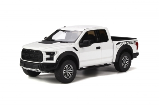 Ford F150 Raptor 2016 Oxford white 1:18 GT Spirit