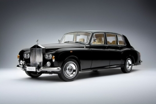 Rolls Royce Phantom VI  black 1:18 Kyosho
