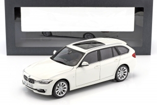 BMW 3 Touring F31 2012 white 1:18 Paragon Models