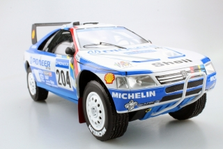 Peugeot 405 GT T-16 #204 Paris Dakar Winner 1989 1:18 Top Marques