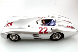 Mercedes-Benz F1 W196C #22 H.Herrmann GP France 1954 1:12 GP Replicas