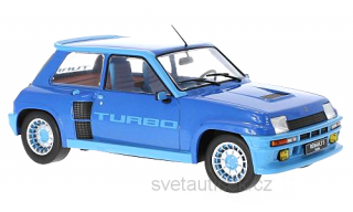 Renault 5 Turbo 1 1981 blue 1:18 Ixo Models