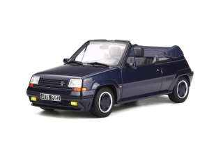 Renault 5 GT Turbo Cabriolet by EBS 1990 Blue Sport Nacre 1:18 OttOmobile