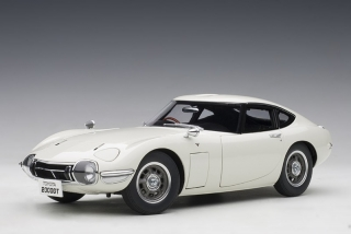 Toyota 2000 GT Coupe 1967 white 1:18 AUTOart