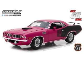Plymouth Hemi Cuda *Shannon* Gone in 60 Seconds 1971 purple 1:18 Highway 61
