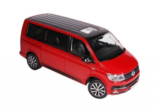 "Volkswagen Multivan T6 ""Edition 30"" red 1:18 NZG"