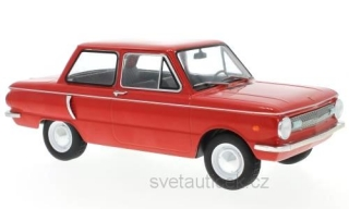 Saporoshez SAS 966 1966 red 1:18 MCG Modelcar Group