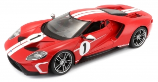 Ford GT #1 2017 red 1:18 Maisto