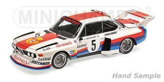 BMW 3.5 CSL Sepp Manhalter Winner Havirov International 1977 1:18 Minichamps