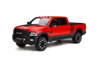 Ram 2500 Power Wagon 2017 Flame red 1:18 GT Spirit
