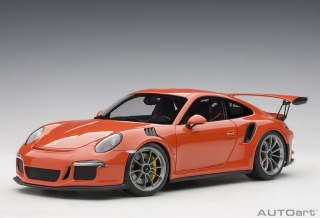 Porsche 911 (991) GT3 RS 2016 orange 1:18 AUTOart