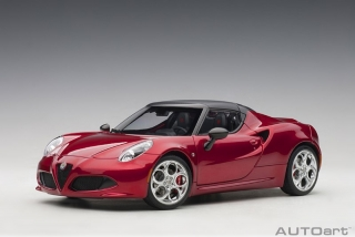 Alfa Romeo 4C Spider competition red 1:18 AUTOart