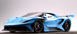 Apollo Arrow 2016 blue 1:18 Top Marques