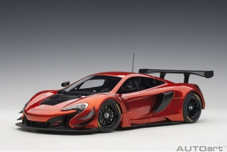 McLaren 650S GT3 volcano orange/black accents 1:18 AUTOart