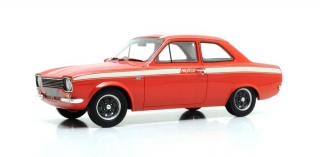 Ford Escort MKI Mexico 1973 red 1:18 Cult Scale Models
