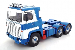 Scania LBT 141 1976 white/blue 1:18 Road Kings