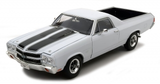 Chevrolet El Camino 1970 white 1:18 Welly