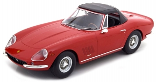 Ferrari 275 GTB/4 NART Spider 1967 red 1:18 KK Scale