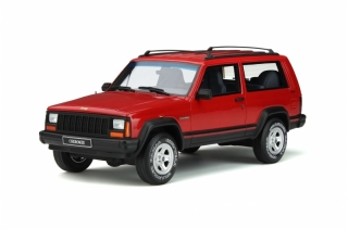 Jeep Cherokee 2.5 EFI 1995 red 1:18 OttOmobile