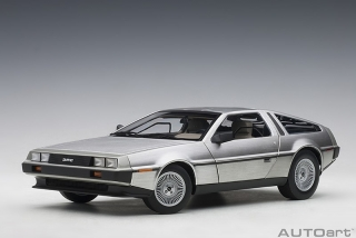 DeLorean DMC-12 1981 satin finish 1:18 AUTOart