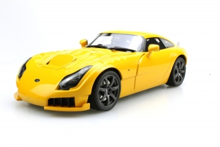TVR Sagaris 2005 yellow 1:18 LS Collectibles