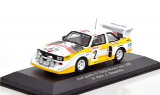 Audi Quattro Sport #2 Röhrl/Geistdörfer 4th Rally Monte Carlo 1986 night version 1:43 CMR