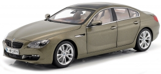 BMW 650i Gran Coupe F06 2013 bronze 1:18 Paragon Models
