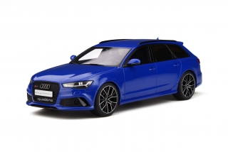 Audi RS6 Performance Nogaro Edition blue 1:18 GT Spirit