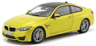 BMW M4 F82 Coupe 2014 yellow 1:18 Paragon Models