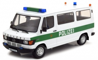 Mercedes 207/208D bus Police 1:18 KK Scale