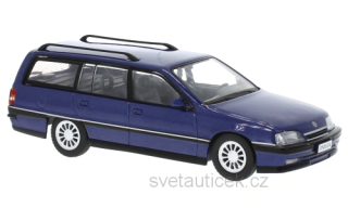 Opel Omega A2 Caravan 1990 blue 1:43 WhiteBox