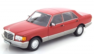 Mercedes-Benz 560 SEL W126 1987 red 1:18 Norev