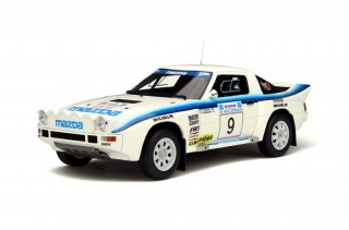Mazda RX-7 Groupe B Rally Acropolis 1985 1:18 OttOmobile