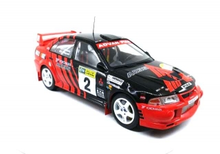 Mitsubishi Lancer EVO #2 Winner Rally of Canberra 1999 1:18 Triple9 Collection