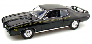 Pontiac GTO Judge Coupe 1969 black 1:18 Motor Max
