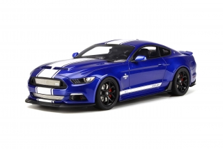 Ford Shelby Mustang Super Snake 2017 Deep impact blue 1:18 GT Spirit