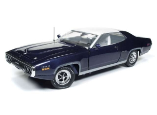 Plymouth Satellite Sebring Plus 1971 violet 1:18 Auto World
