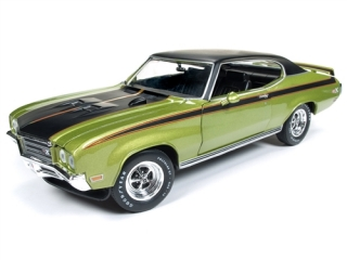 Buick Skylark GSX (Hemmings Muscle Mach.) 1971 limemist green 1:18 Auto World