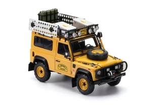 Land Rover Defender 90 Camel Trophy Edition yellow 1:18 Almost Real