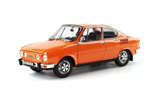 Škoda 110R Coupe 1980 orange 1:18 Abrex