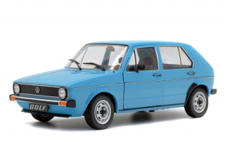 Volkswagen Golf L 1983 light blue 1:18 Solido
