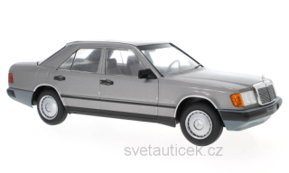 Mercedes-Benz 300 D (W124) 1984 dark grey metallic 1:18 MCG Modelcar Group