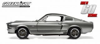 "Ford Mustang ""Eleanor"" Gone in 60 seconds (2000) 1967 grey 1:18 Greenlight"