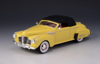 Buick Roadmaster Convertible 1941 Closed Roof yellow 1:43 GLM Models