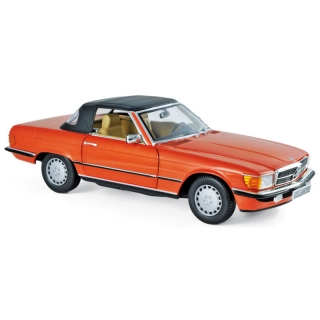 Mercedes-Benz 300 SL 1986 Inca Red 1:18 Norev