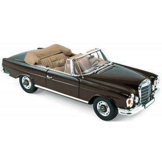 Mercedes-Benz 280 SE Cabriolet 1969 brown 1:18 Norev