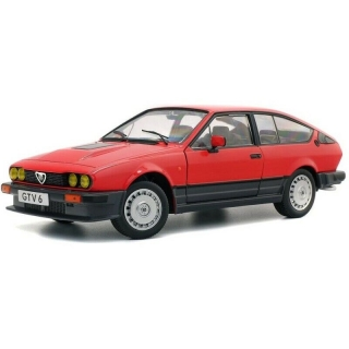 Alfa Romeo GTV6 1984 red 1:18 Solido